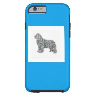 Newfoundland dog     Newfie Tough iPhone 6 Case