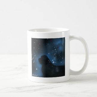 Newfoundland dog painting coffee mug