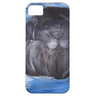 Newfoundland Dog painting iPhone SE/5/5s Case