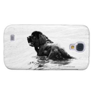 Newfoundland Dog Phone Case Samsung Galaxy S4 Cover