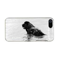 Incipio Feather Shine iPhone 5/5s Case with Newfoundland Phone Cases design