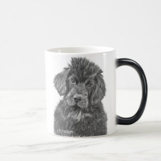 Newfoundland Dog Puppy Magic Mug