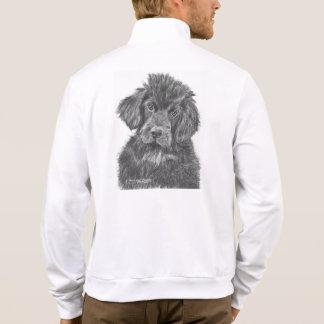 Newfoundland Dog Puppy Printed Jacket