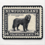 Newfoundland Dog Stamps Gifts Mouse Pad