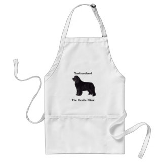 Newfoundland Dog The Gentle Giant Aprons