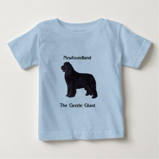 Newfoundland Dog The Gentle Giant Baby T-Shirt