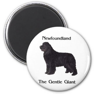Newfoundland Dog The Gentle Giant Magnet