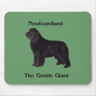Newfoundland Dog The Gentle Giant Mouse Pad