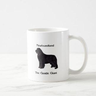 Newfoundland Dog The Gentle Giant Classic White Coffee Mug