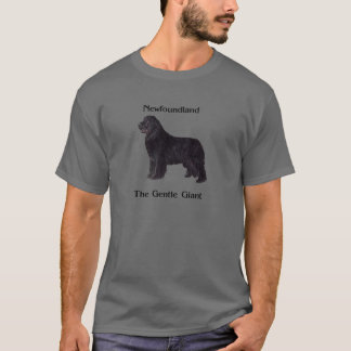 Newfoundland Dog The Gentle Giant T-Shirt
