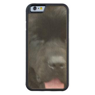 Newfoundland Dog Carved® Maple iPhone 6 Bumper Case
