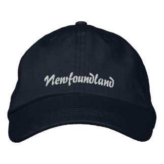 Newfoundland Embroidered Hat