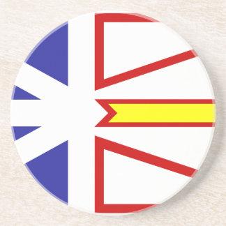 newfoundland-Flag #2 Sandstone Coaster