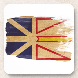 Newfoundland Flag Beverage Coaster