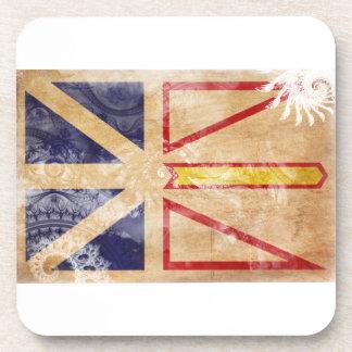 Newfoundland Flag Coaster