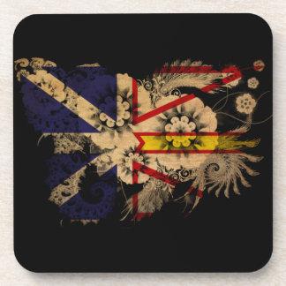 Newfoundland Flag Drink Coaster