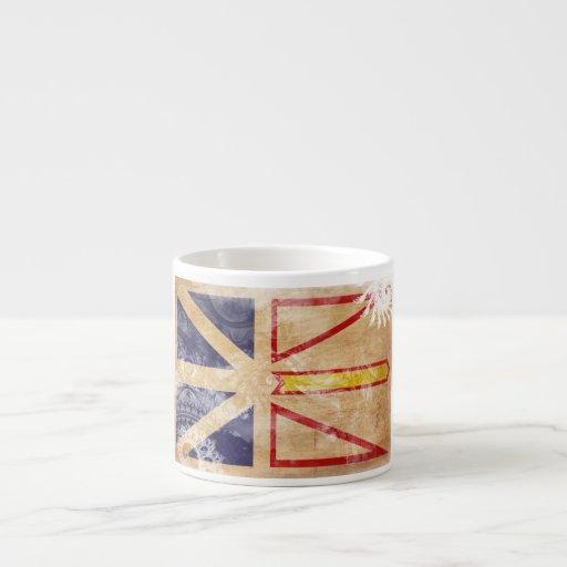 Newfoundland Flag Espresso Cup