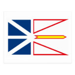 Newfoundland Flag Postcard