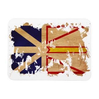Newfoundland Flag Vinyl Magnet