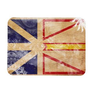 Newfoundland Flag Rectangle Magnets