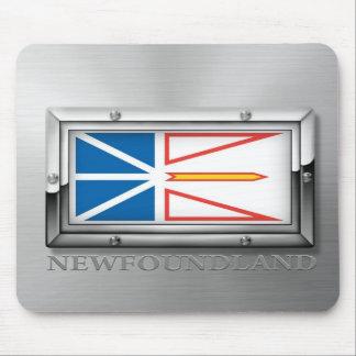 Newfoundland Flag (Steel) Mouse Pad