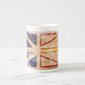 Newfoundland Flag Tea Cup