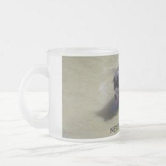 NEWFOUNDLAND FROSTED GLASS COFFEE MUG