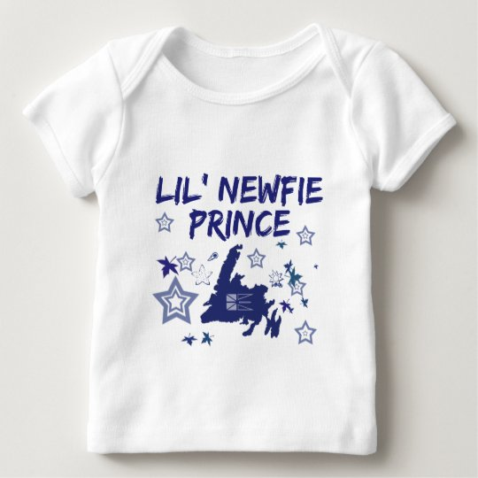 Newfoundland Gift Lil Newfie Prince Newfoundland Baby T-Shirt