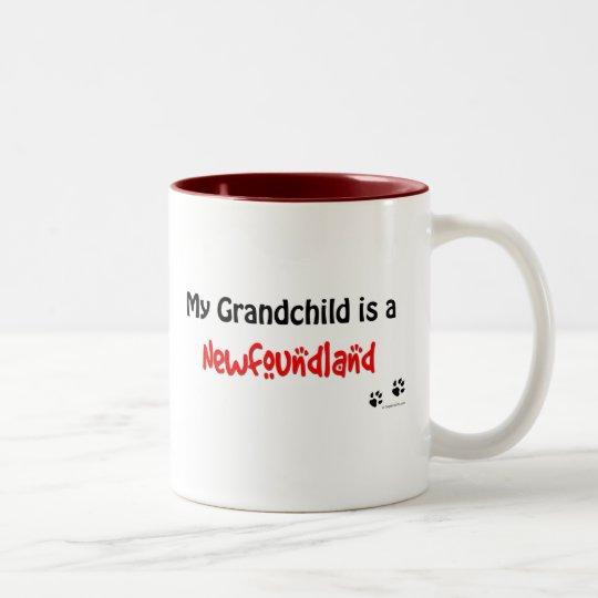 Newfoundland Grandchild Two-Tone Coffee Mug