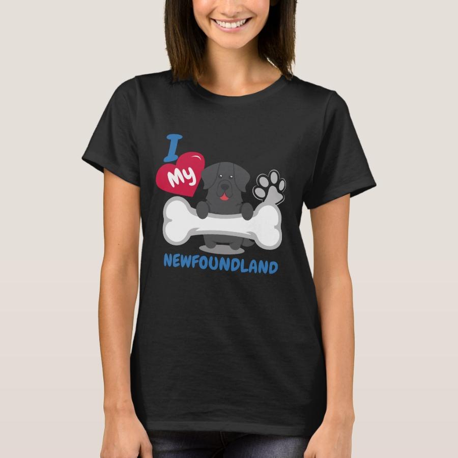 NEWFOUNDLAND - I Love My NEWFOUNDLAND Gift T-Shirt - Best Selling Long-Sleeve Street Fashion Shirt Designs