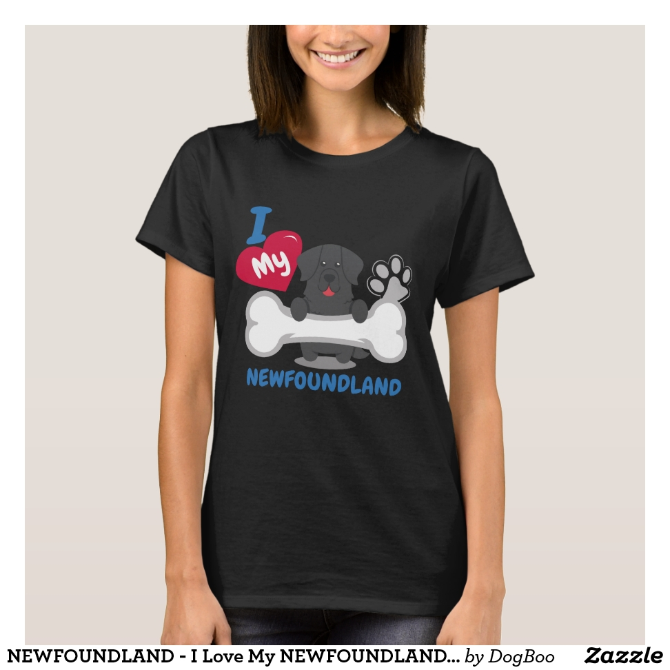 NEWFOUNDLAND - I Love My NEWFOUNDLAND Gift T-Shirt - Best Selling Long-Sleeve Street Fashion Shirt Designs
