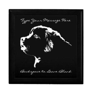 Newfoundland Jewelry Box Custom Puppy Gift Box