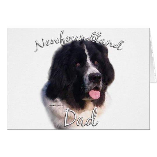 Newfoundland (landseer) Dad 2 Card