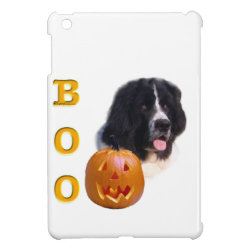 Newfoundland Landseer Halloween Boo Case For The iPad Mini