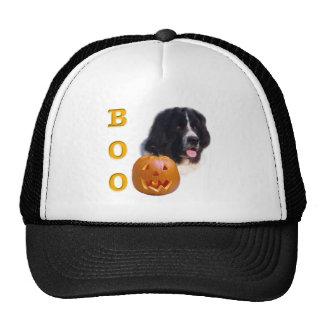 Newfoundland (landseer) Halloween Boo Trucker Hats
