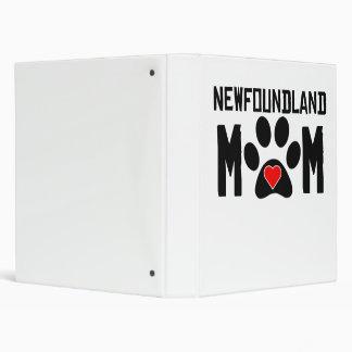 Newfoundland Mom 3 Ring Binders