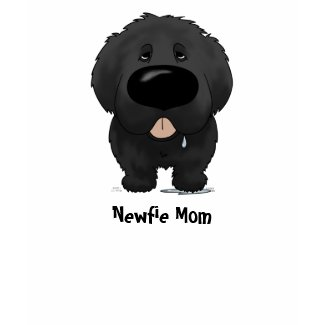 Newfoundland Mom zazzle_shirt