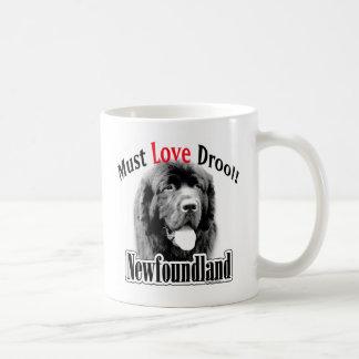 Newfoundland Must Love Drool Coffee Mug