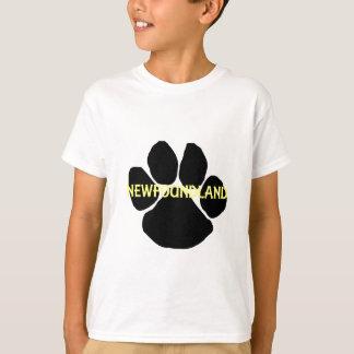 newfoundland name paw.png T-Shirt