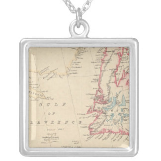 Newfoundland, New Brunswick, Nova Scotia Personalized Necklace