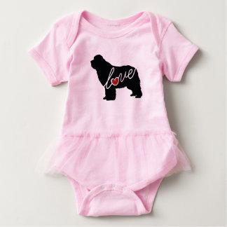 Newfoundland (Newfie) Love Baby Bodysuit