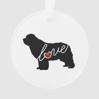 Newfoundland (Newfie) Love Ornament