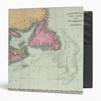Newfoundland Nova Scotia And New Brunswick Vinyl Binder