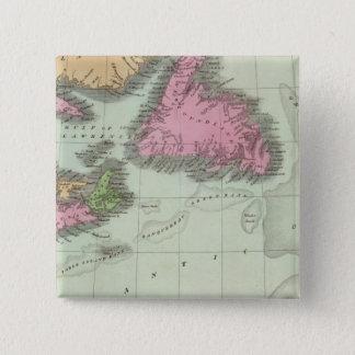 Newfoundland Nova Scotia And New Brunswick Pinback Button