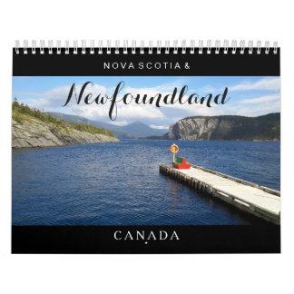 Newfoundland Nova Scotia Canada Calendar