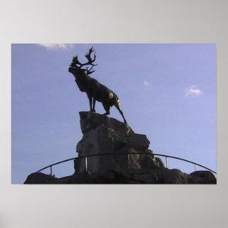Newfoundland Park, Caribou Memorial, Poster