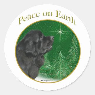 Newfoundland Peace Sticker