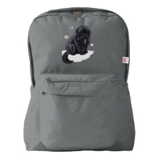 Newfoundland Puppy American Apparel™ Backpack
