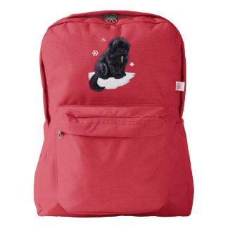 Newfoundland Puppy Backpack