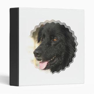 Newfoundland Puppy Dog Binder